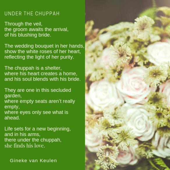 Under the chuppah