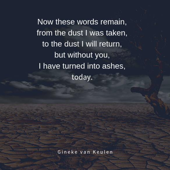 Into The Ashes Gineke Van Keulen